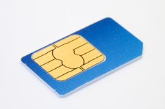 Sim card Stock Photography