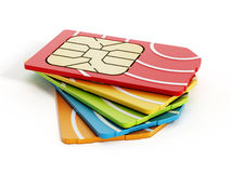 SIM card Royalty Free Stock Image