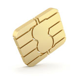 SIM card chip Stock Images