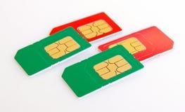 Sim card. Stock Image