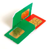 Sim card. Royalty Free Stock Photography