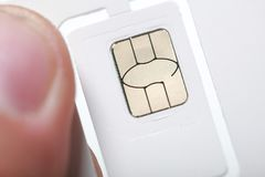 New sim card format nano micro and standard. Sim card format nano micro and standard Stock Image