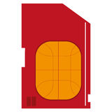 sim card icon Stock Photo