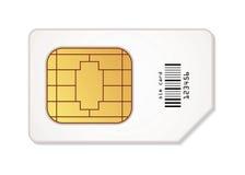 Sim card icon Royalty Free Stock Photos