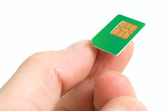Sim card. Royalty Free Stock Photos