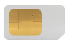 SIM Card for Mobile Phone Royalty Free Stock Image