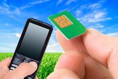 Mobile communications. Stock Photo