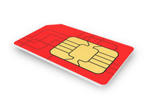SIM-card Stock Photos