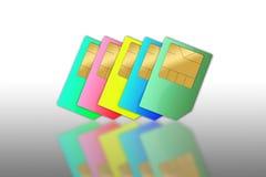 Sim cards Stock Image