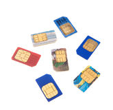 Sim-cards Royalty Free Stock Image
