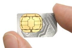 Sim-Cartão Imagem de Stock