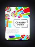 sim för presentation för design för kortbegrepp idérik Arkivbild