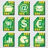 Sim-kart_01 Stock Images