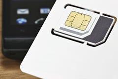 SIM karta 03 Obrazy Royalty Free