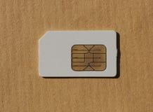 SIM-kort som används i telefoner Royaltyfria Foton