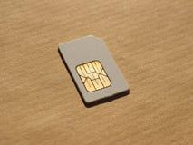 SIM-kort som används i telefoner Royaltyfri Foto