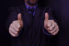 Sim para o negócio!! Imagem de Stock