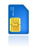 Sim Personalausweis-Handy Stockfotografie