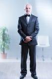Sim senhor, eu estou pronto para servir Fotografia de Stock