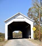 Sim Smith Covered Bridge stock afbeeldingen