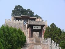 Sima Qian Temple Royalty Free Stock Images