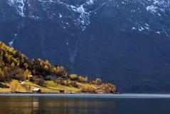 Simadalsfjorden Lizenzfreie Stockfotos