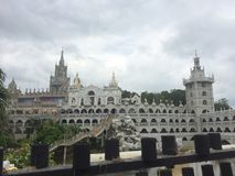 Simala Church. ASEAN PHILIPPINES LOVE Royalty Free Stock Photos