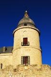 Simancas castler Kontrollturm Stockbilder