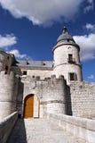 Simancas-Schloss Lizenzfreie Stockbilder