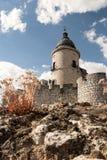 Simancas-Schloss Lizenzfreies Stockfoto