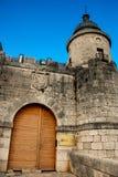 Simancas, Spain. 04/12/2008.Simancas castle. Castle that hosts the General Archives of Simancas Royalty Free Stock Image