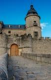 Simancas, Spain. 04/12/2008.Simancas castle. Castle that hosts the General Archives of Simancas Royalty Free Stock Images