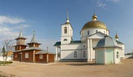 simansky kloster arkivbild