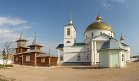 Simansky monastery. Monastery in Pskov region revived in the early 21st century Stock Photography