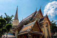 Simaram di Maha del sathit del ratchabophit di Wat, Bangkok, Tailandia fotografie stock