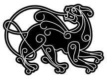 Simargl. Deidad mítica eslava. Fotografía de archivo libre de regalías