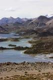 Simas de Cotacotani en el parque nacional Chile de Lauca fotos de archivo
