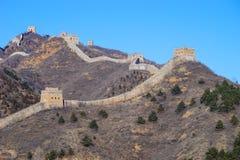 simatai wielka ściana Zdjęcie Stock