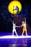 Simba i Nala kończy przedstawienie Fotografia Royalty Free