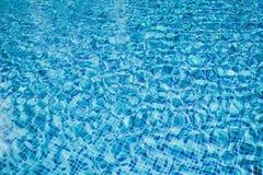 Simbassäng vattentextur, frikänd som är ren Fotografering för Bildbyråer