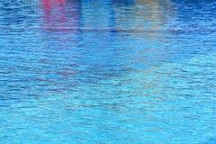 Simbassängvatten Fotografering för Bildbyråer