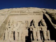 Simbel d'Abu Photo stock