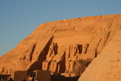 simbel d'abu Photos stock