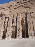 Simbel de Abu Foto de archivo libre de regalías