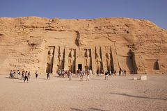 Simbel di Abu Immagine Stock