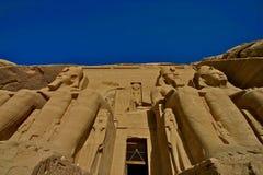 Simbel di Abu immagini stock libere da diritti