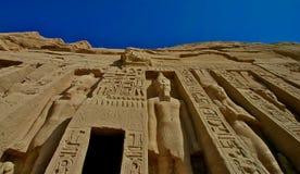 Simbel di Abu fotografie stock libere da diritti