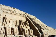 Simbel di Abu Fotografia Stock Libera da Diritti