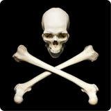 simbol пирата Стоковые Изображения RF
