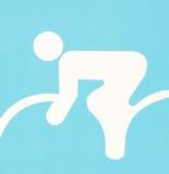 Simbol of bicycle sport Royalty Free Stock Image